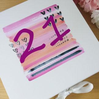 21 personalised present