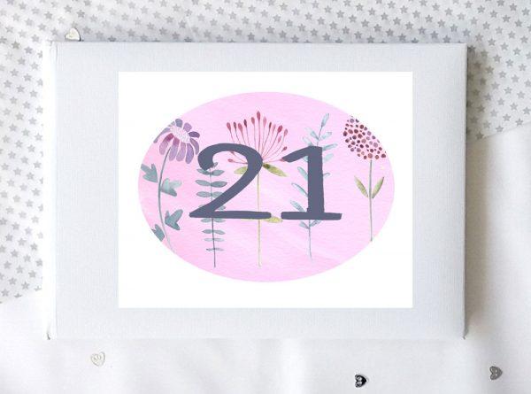 personalised 21 birthday present