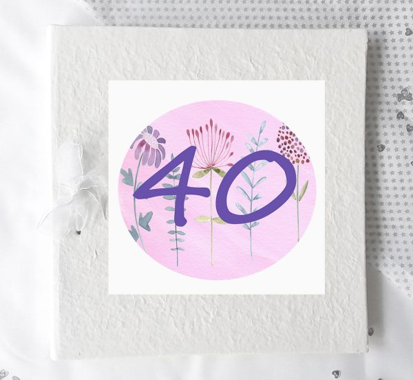 40th personalised birthday gifts