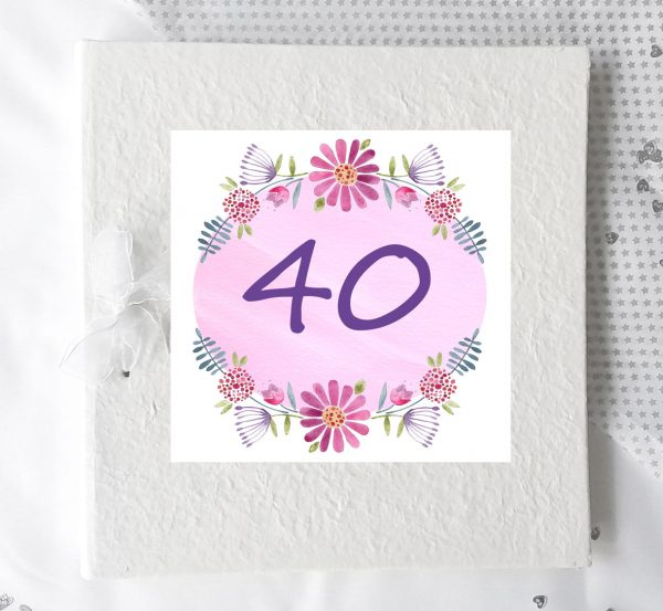 personalised 40th gift ideas