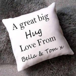Mothers Day personalised cushion