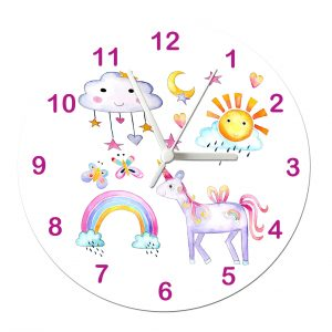 clock for girls room
