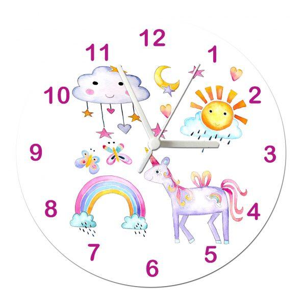 clock for girls room
