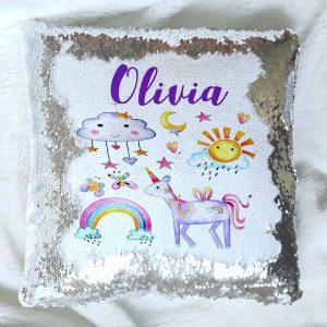 girls reveal cushion