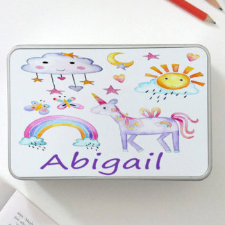 personalised unicorn gift