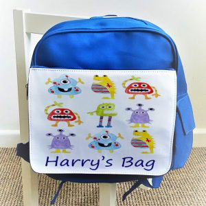 Boys personalised Back Pack