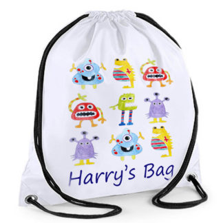 Personalised Large Waterproof Swimming Bag