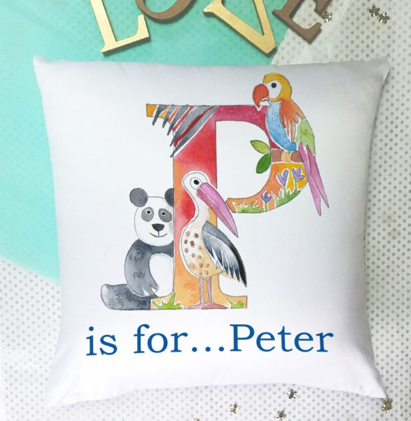 personalised childrens cushion