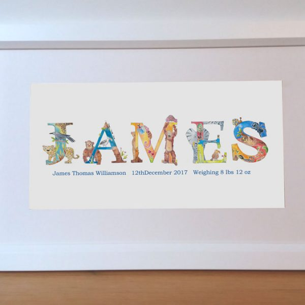 Personalized Baby Name Gift