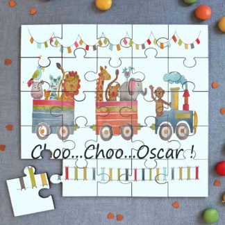 Animal Train Jigsaw