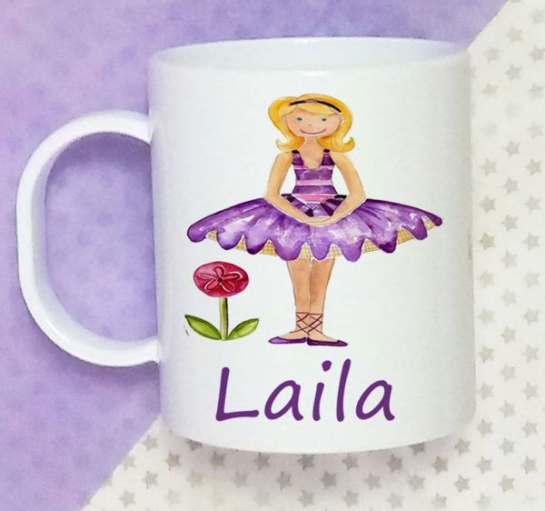 ballet personalised girls cup