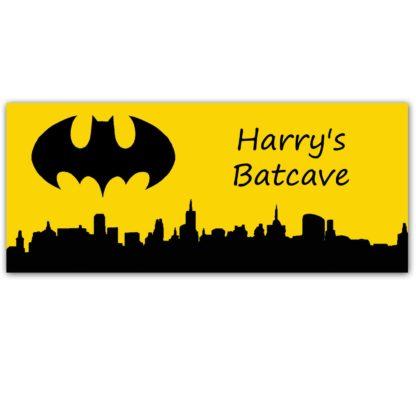Batman Door Sign