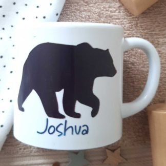 Personalised Bear Cup