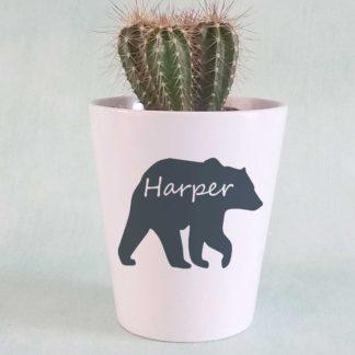 Personalised Children's Plant Pot