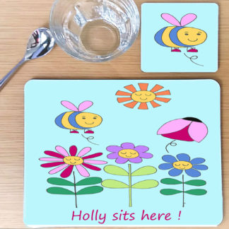 personalised placemat set