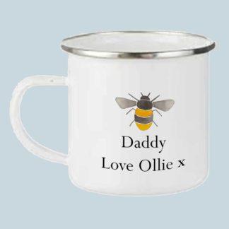Bee Dad camping mug
