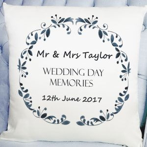 personalised wedding day gift