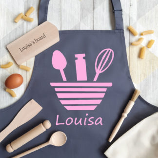 Bowl Baking Apron Set