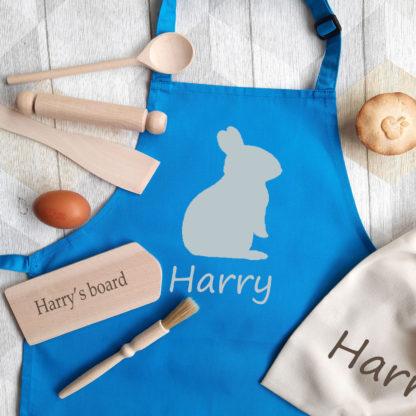 Bunny Personalised Apron Baking Set