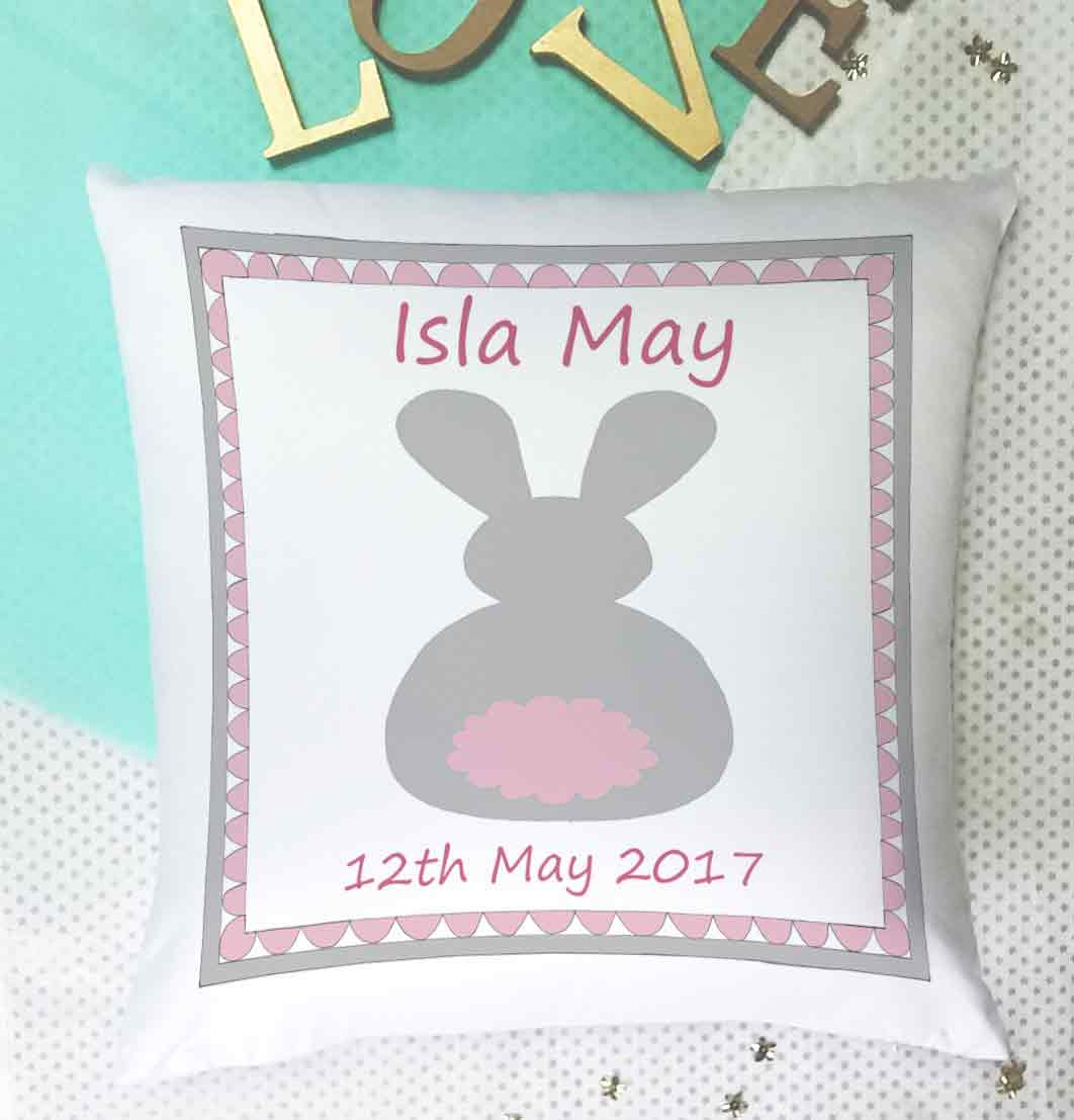 girls personalised cushions