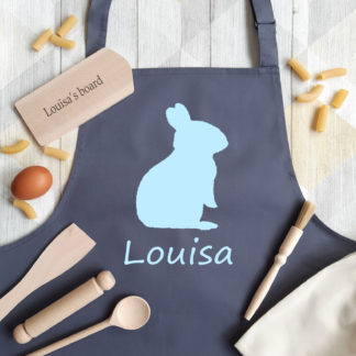 Bunny Personalised Apron Baking Set