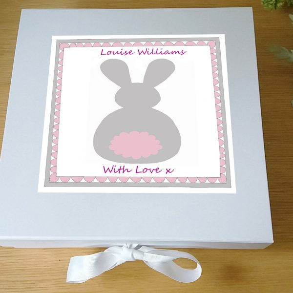 personalsied baby keepsake box