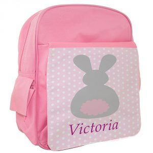 personalised back pack for girls