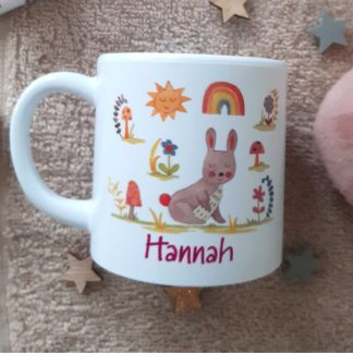 Bunny Personalised Cup
