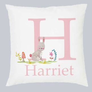 Girl's Bunny Cushion