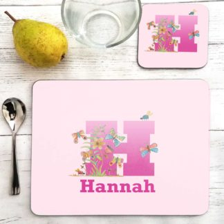 Butterfly Placemat for girl