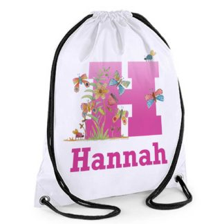 Butterfly Personalised Bag
