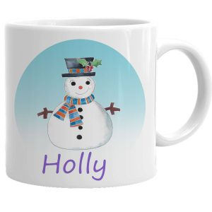 personalised children's christmas cups