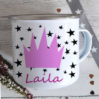 Crown-Enamel-Mug