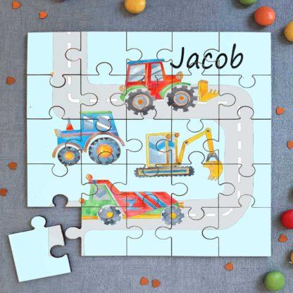 Digger Jigsaw