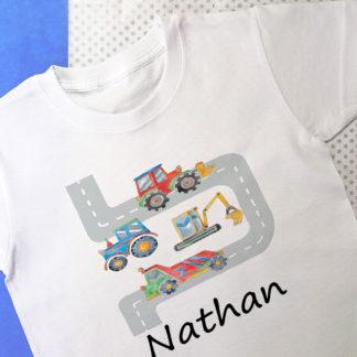 boy personalised t-shirt