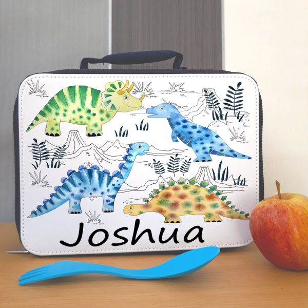 boys school lunch bag