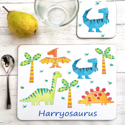 personalsied placemat & Coaster