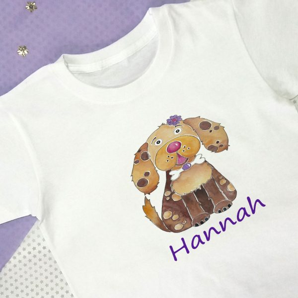 Personalised T shirt for girls