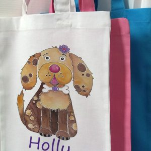 personalised bag for girl