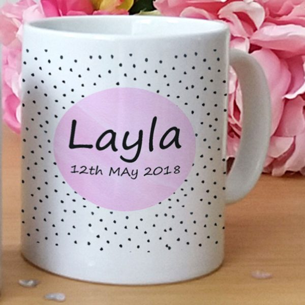personalised plastic cup for girl