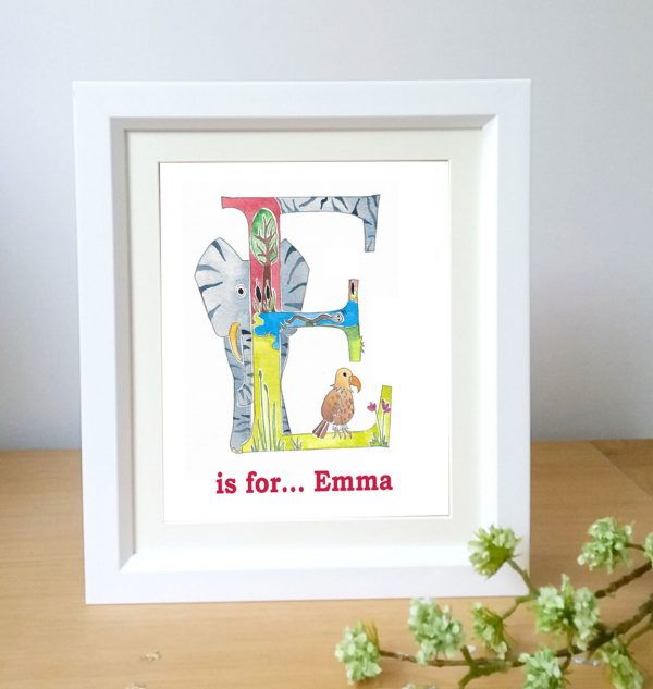 Personalised Letter art