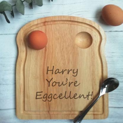 egg breakfast board