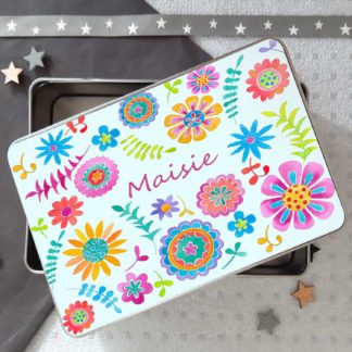 Flower Metal TIn