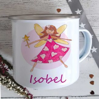 Fairy-Girl-Enamel-Mug