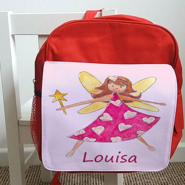 Girls Personalised School Bag