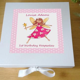 fairy girl keepsake box