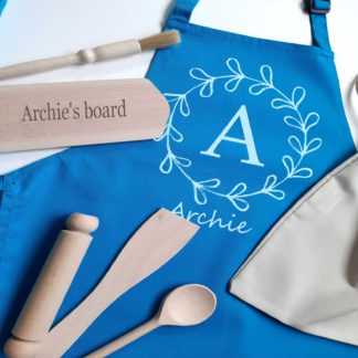 Fern Circle Personalised Apron
