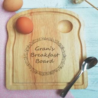 gran's egg board