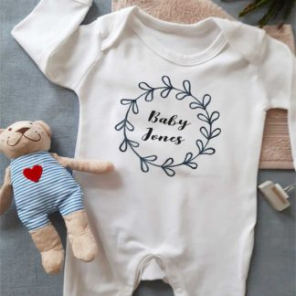 Personalised Sleepsuuit