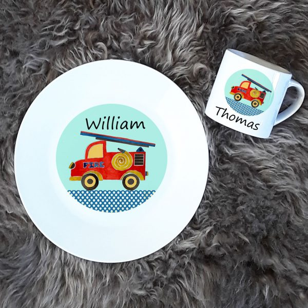 kids plate and cup set